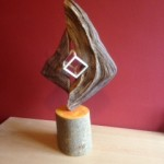 Synergy, mixed wood & lacquer 19""