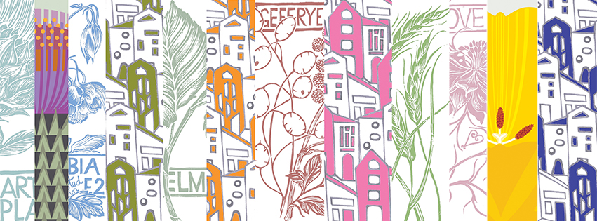 Pie Factory Margate Jenny Duff tablemats