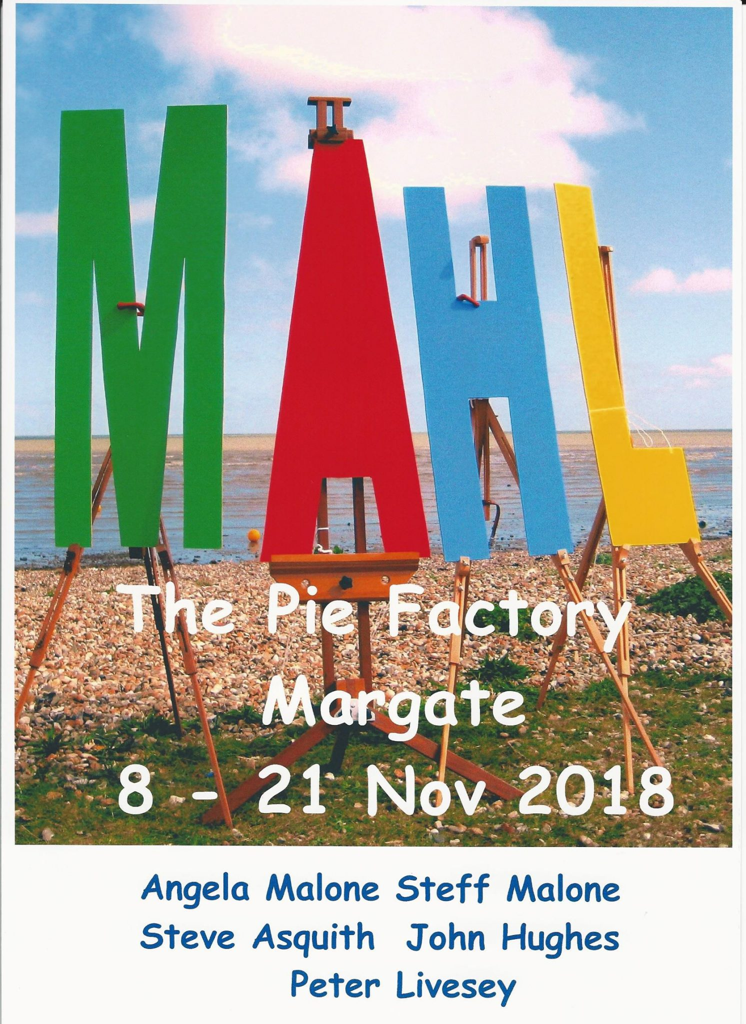 MAHL Poster 2018 Pie Factory Margate