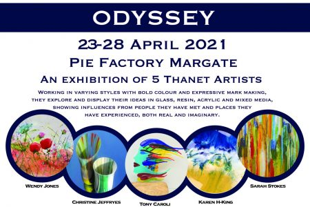 Odyssey Exhibition at Pie Factory Margate