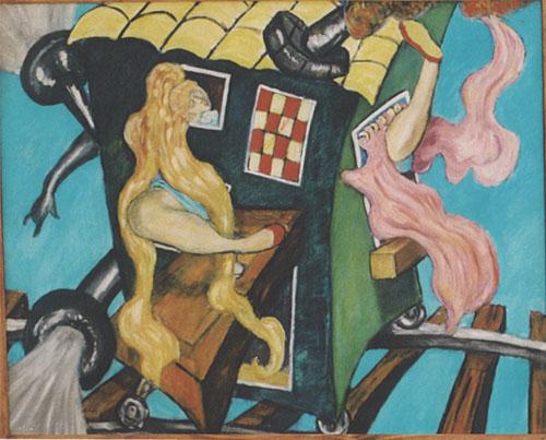 Pie Factory Margate Anton Shapiro painting