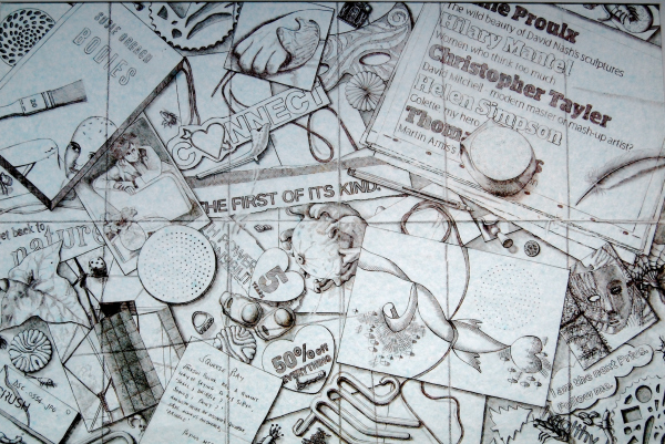Pie Factory Margate art exhibition Title. Trialogue Omi Abdullah Julia Iwasz Nicholas Addison