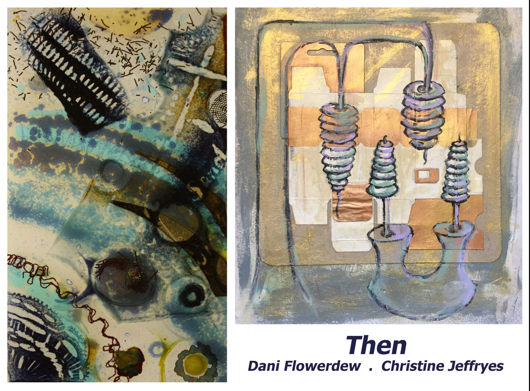 Pie Factory Margate Then exhibition by Christine Jeffryes and Dani Flowerdew