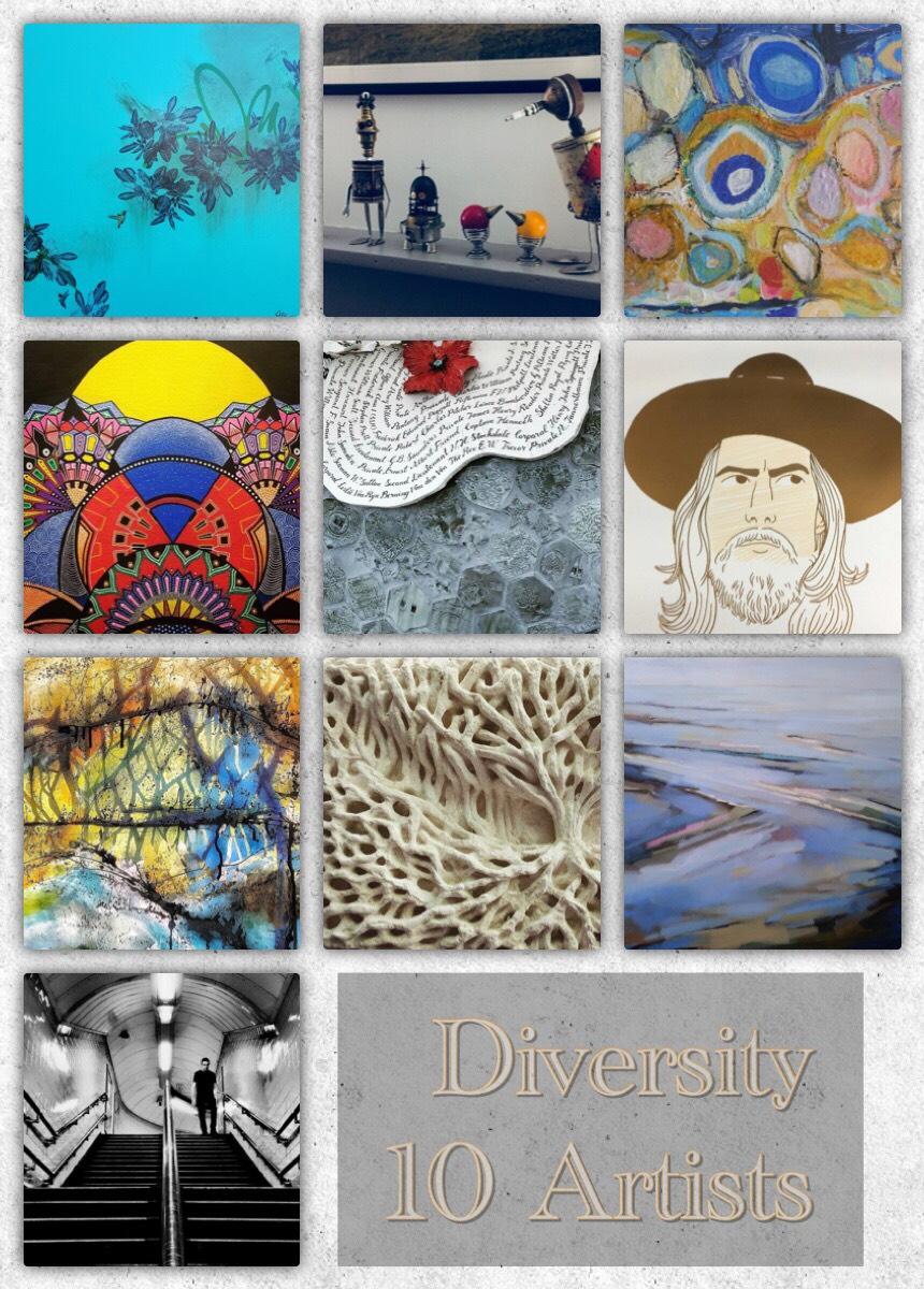 Diversity exhibition at Pie Factory Margate