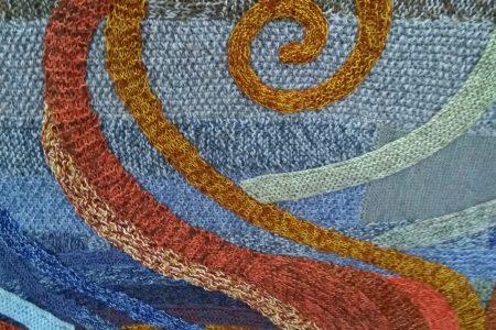 Dan Chilcott knitting exhibition Pie Factory Margate