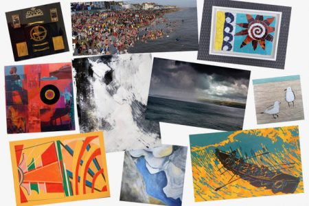 South East Artists SEAS Three Point Turner exhibition at Pie Factory Margate