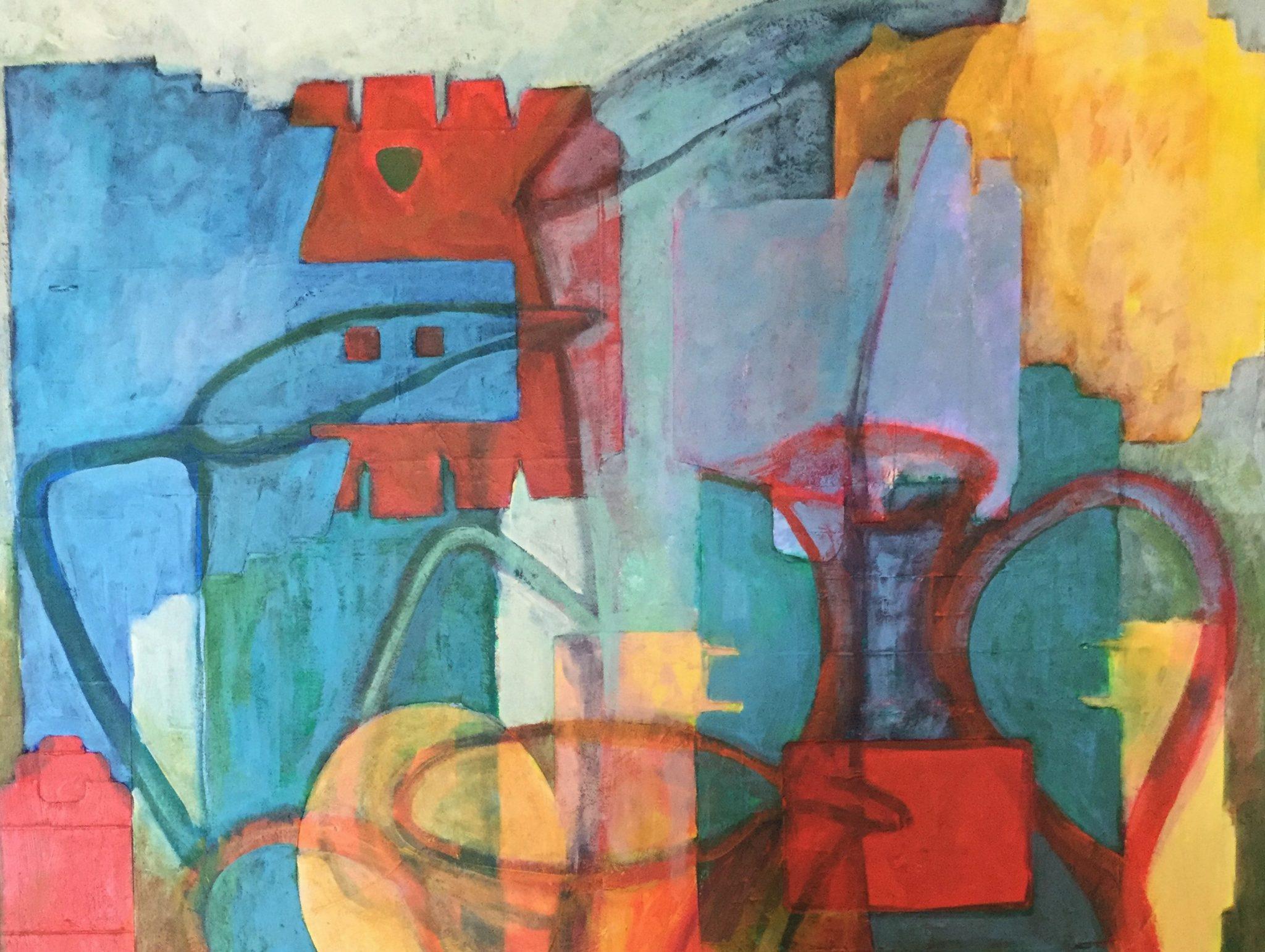 Dani Flowerdew art exhibition at Pie Factory Margate