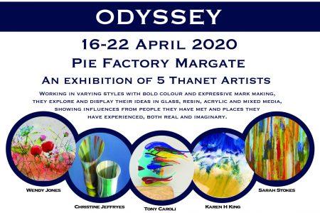 Odyssey exhibition at Pie Factory Margatte