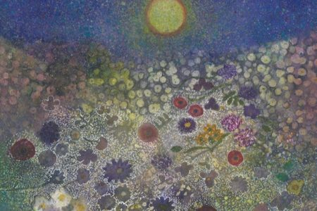Illustration from 'A Dance in the Moon', by Susie Darnton Garden at Pie Factory Margate