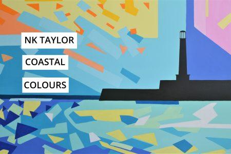Nicola Taylor, Coastal Colours, Margate Lighthouse, at Pie Factory Margate